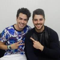 Sam Alves e Alok comemoram parceria após show explosivo do DJ no Rock in Rio 2015!