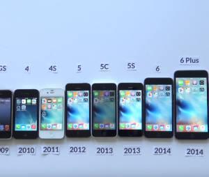 Todos as gerações de iPhone são comparadas para ver a evolução do dispositivo
