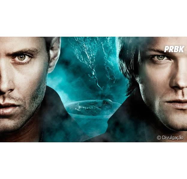 """Em """"Supernatural"""": Sam (Jared Padelacki) e Dean (Jensen Ackles) procuram bebê ligado à Escuridão!"""