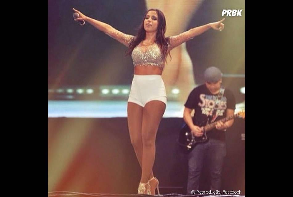 A cantora Anitta promete surpreender em gravação de seu DVD ao vivo