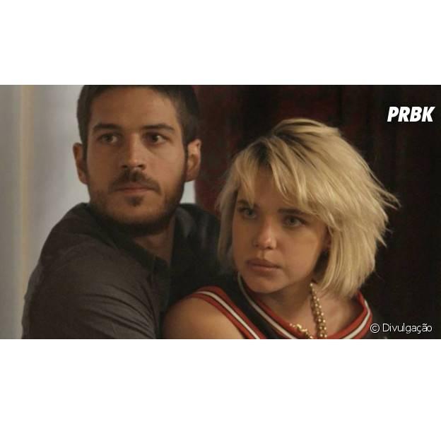 """Em """"A Regra do Jogo"""": Belisa (Bruna Linzmeyer) é internada e termina namoro com Dante (Marco Pigossi)"""