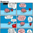 O cérebro precisa dar limites para o coração