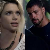 """Novela """"A Regra do Jogo"""": Juliano (Cauã Reymond) e Belisa transam após Tóia flagrar esconderijo!"""