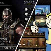 """Jogos """"Falltou Shelter"""", """"Mortal Kombat"""" e outros grátis que todo gamer deve ter no celular"""