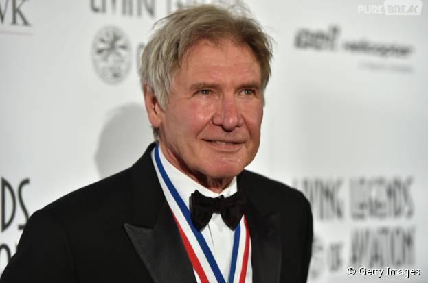 """Harrison Ford também comenta a ausência de Luke Skywalker (Mark Hamill) no material de divulgação de """"Star Wars VII"""""""