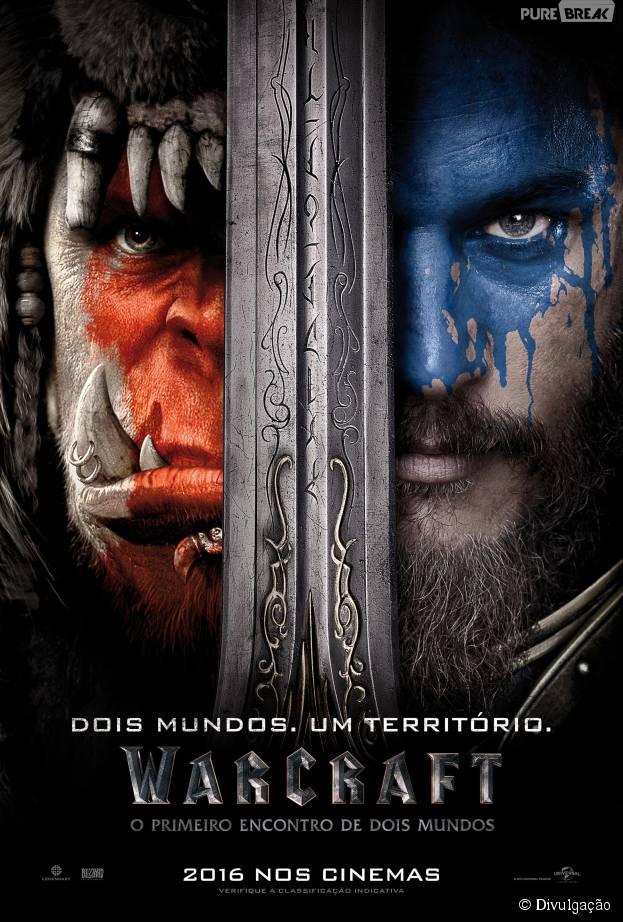 """Filme """"Warcraft"""" acaba de ganhar o seu primeiro cartaz oficial"""