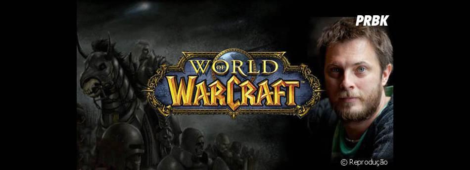 """O diretor Duncan Jones já havia revelado uma imagem de """"World of Warcraft"""" em sua conta no Twitter"""