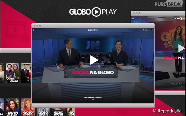 O aplicativo Globo Play já está disponível para Android e iOS!