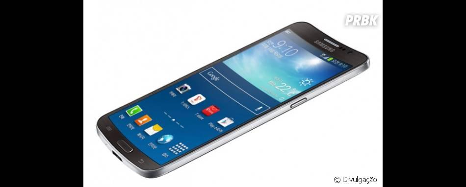 Galaxy Round da Samsung é o primeiro smartphone côncavo do mundo