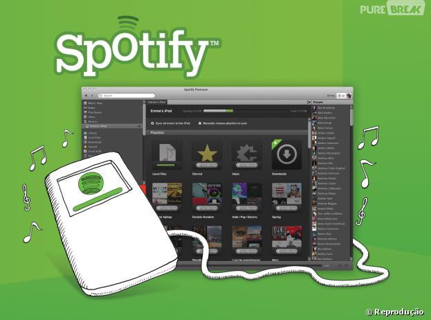 Aos poucos, Spotify coloca os pés no Brasil