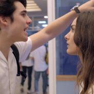 """Novela """"Malhação"""": Luciana (Marina Moschen) se irrita com ofensas de Rodrigo: """"Você é doido!"""""""