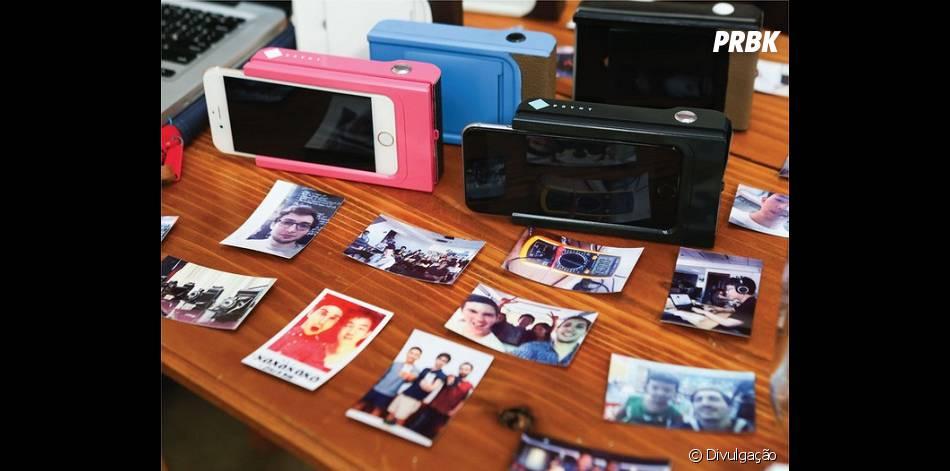 Capa para iPhone e Galaxy permite que usuários transformem celular em uma câmera estilo Polaroid