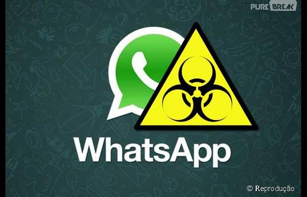 Whatsapp está sendo usado por hackers para espalhar vírus nos smartphones!