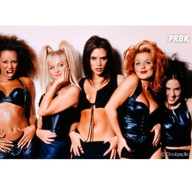 As Spice Girls ditaram mundialmente a moda dos anos 90