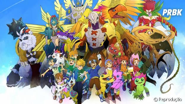 """""""Digimon"""" e todo o seu mundo de animais improváveis, fadas e duentes!"""