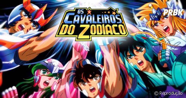 """O desenho """"Cavaleiros do Zodíaco"""" mostrava cinco jovens ajudando a reencarnação de Athena!"""
