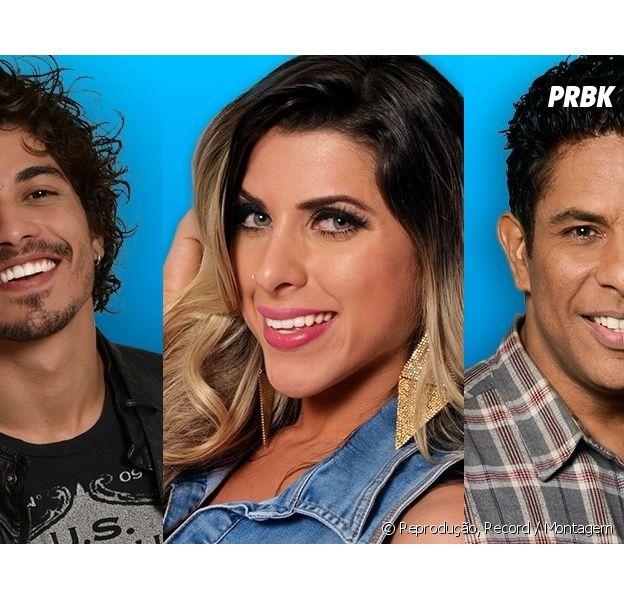 """No """"A  Fazenda 8"""": Douglas Sampaio, Ana Paula ou Luka? Quem deve vencer a edição?"""