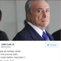 Dilma Rousseff e Michel Temer viram meme nas redes sociais após divulgação de carta. Confira!