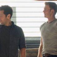 """De """"Capitão América 3: Guerra Civil"""": Steve Rogers (Chris Evans) e Scott Lang juntos em nova imagem!"""
