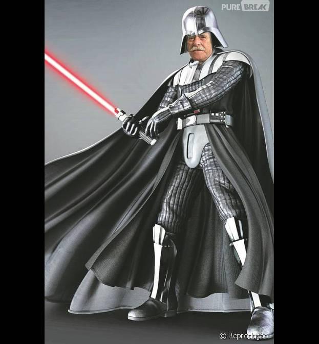 """Em """"A Regra do Jogo"""": Gibson (José de Abreu) é Pai da facção e comparado com Darth Vader!"""