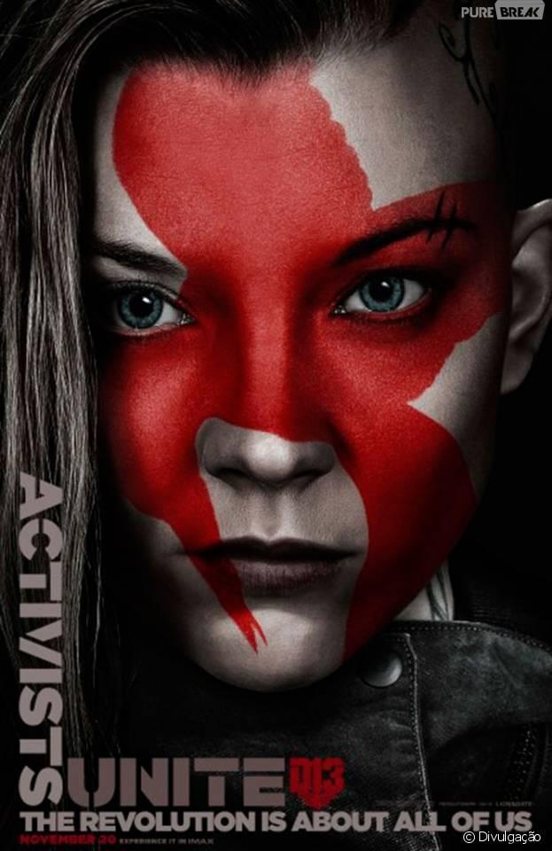 """Natalie Dormer participaria de mais um filme para a franquia """"Jogos Vorazes"""""""