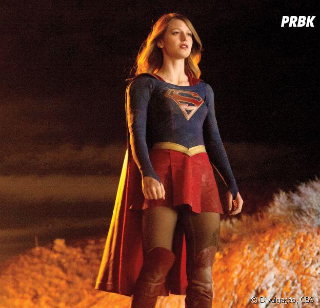 """Em """"Supergirl"""", Kara (Melissa Benoist) terá sua própria versão """"gêmea do mal""""!"""