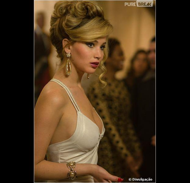 "Jennifer Lawrence foi indicada novamente ao Oscar 2014! Agora, por ""Trapaça"""