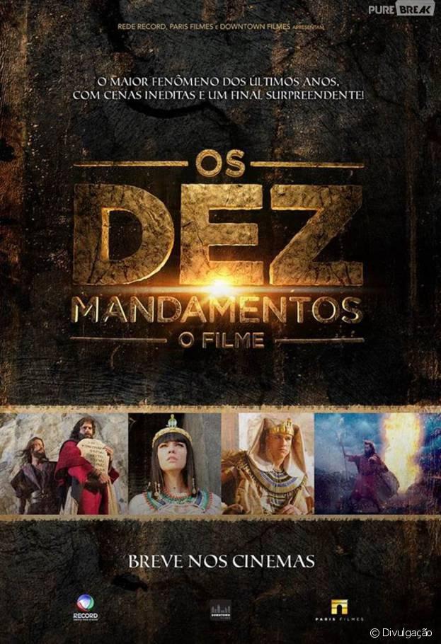 """A versão para as telonas da novela """"Os Dez Mandamentos"""" acaba de ganhar o seu primeiro trailer"""