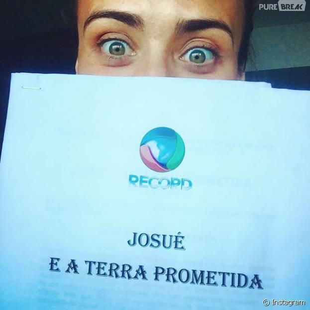 """Depois de """"Os Dez Mandamentos"""", Record começa escalação de elenco de nova trama bíblica do canal! Juliana Silveira é confirmada em """"A Terra Prometida"""""""