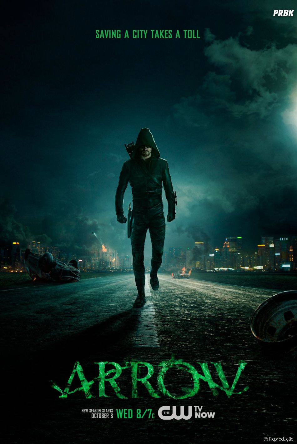 """Ponto para quem apostou em """"Arrow""""! A história do arqueiro Oliver Queen (Stephen Amell) é uma das campeãs de audiência do canal norte-americano The CW"""