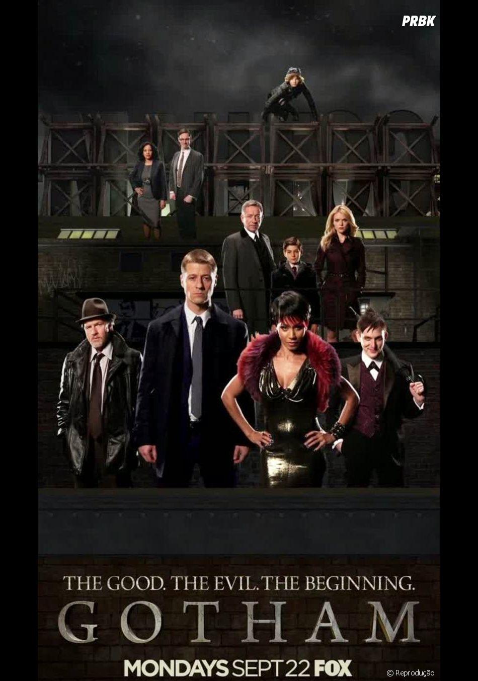 """""""Gotham""""! A produção que conta a história antes do surgimento do """"Batman"""""""