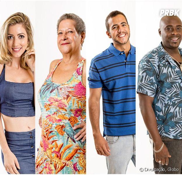 """Quem você quer que continue na casa do """"BBB16""""? Fernanda, Geralda, Matheus ou William?"""