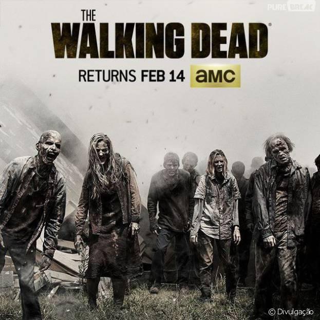 """Em """"The Walking Dead"""": Andrew Lincoln, o Rick, promete fortes emoções para desfecho da sexta temporada"""