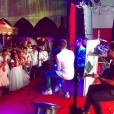Larissa Manoela convidou a banda Fly para cantar na sua festa de 15 anos