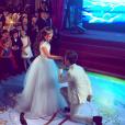 Larissa Manoela e João Guilherme Ávila dançaram valsa juntos na festa de 15 anos da atriz
