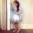 Larissa Manoela usou dois looks em sua festa de 15 anos