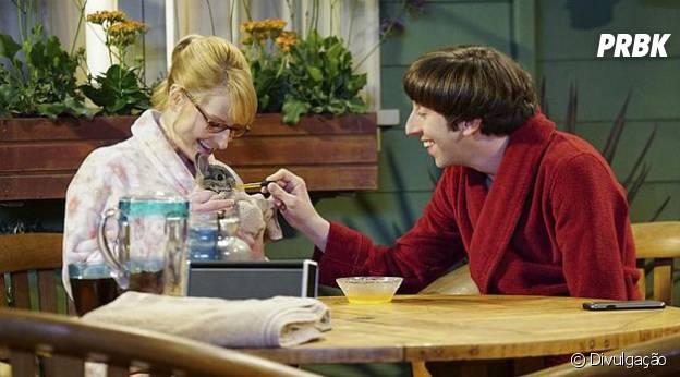 """Em """"The Big Bang Theory"""": na 9ª temporada, será que Howard e Bernadette vão aumentar a família?"""