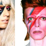 """Lady Gaga irá homenagear David Bowie no Grammy Awards 2016: """"Ela é perfeita para isso"""""""
