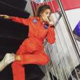 Jessica Serfaty em um dia normal vestida de... Astronauta?