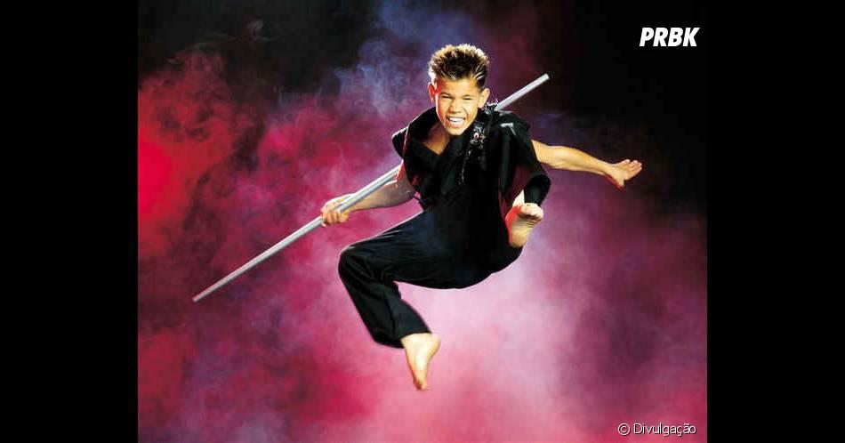 """O primeiro filme de Taylor Lautner foi """"Shadow Fury"""", em 2001, quando tinha apenas 9 anos de idade"""