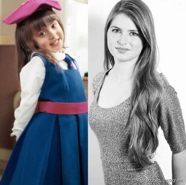 """A atriz Daniela Aedo cresceu e mudou bastante, mas será eternamente a """"Carinha de Anjo""""!"""