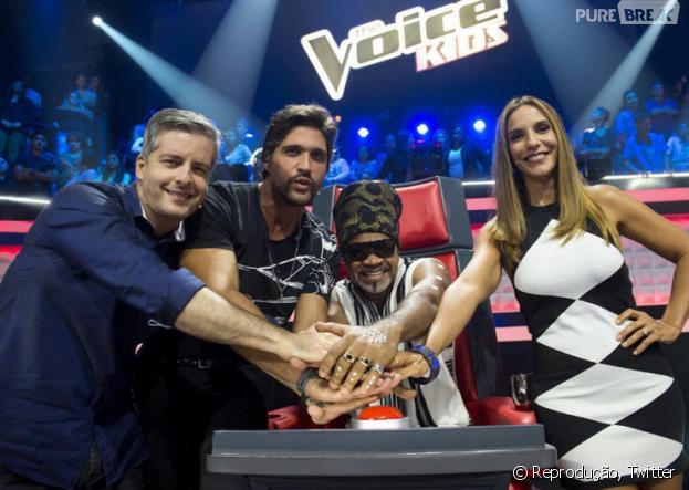 """O """"The Voice Kids"""" está ficando cada vez mais incrível e os memes não param de invadir o Twitter!"""