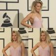 Ellie Goulding deixou muita gente babando ao passar pelo tapete vermelho no Grammy