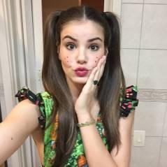 """Camila Queiroz, de """"Êta Mundo Bom"""", prova que Mafalda e Angel sempre estão em seu Instagram!"""