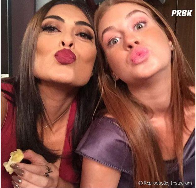 Marina Ruy Barbosa e Juliana Paes vão gravar no Uruguai