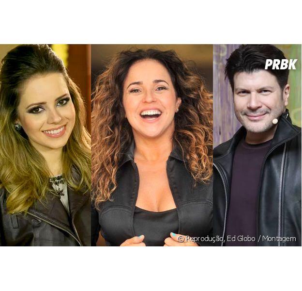 """Do """"SuperStar"""": Sandy, Daniela Mercury e Paulo Ricardo formam novo time de jurados do programa"""
