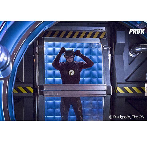 """Em """"The Flash"""": Barry (Grant Gustin) viaja no tempo e enfrenta inimigo poderoso!"""