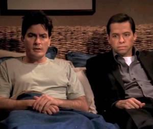 """Nas primeiras três temporadas de """"Two and a Half Men"""", Charlie Sheen era o personagem principal da série"""