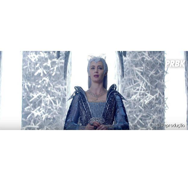 """""""O Caçador e a Rainha do Gelo"""" ganhou um novo comercial incrível"""