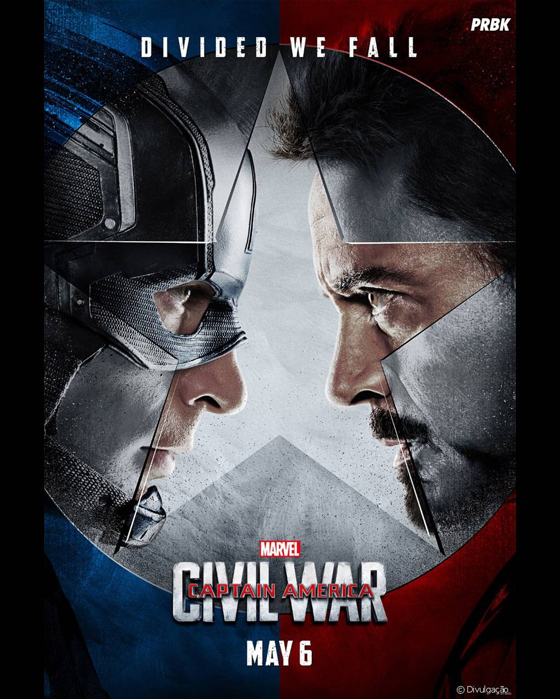 """""""Capitão América 3: Guerra Civil"""" é um dos filmes mais aguardados do momento"""